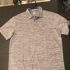 Large Gray Greg Norman Golf Polo
